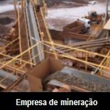 Avalia��o patrimonial - empresa de minera��o