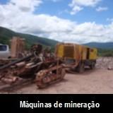 Avalia��o de m�quinas e equipamentos de minera��o