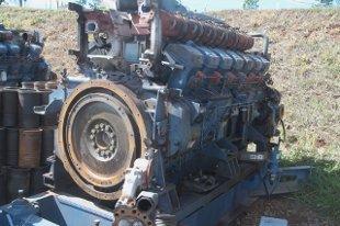 Motores Diesel de geração de energia