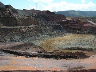 Jazidas de minério